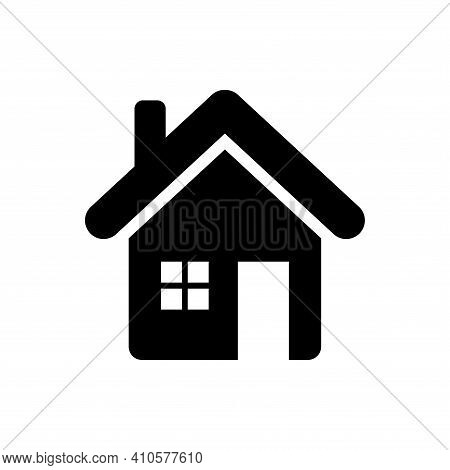 House Icon Vector. House Icon Vector Isolated On White Background. House Icon Vector Simple And Mode