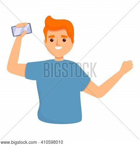 Take New Smartphone Icon. Cartoon Of Take New Smartphone Vector Icon For Web Design Isolated On Whit