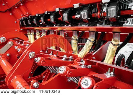 Agricultural Machinery. The Elements And Components Of Agricultural Techniques.