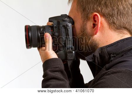 Photographer And Camera