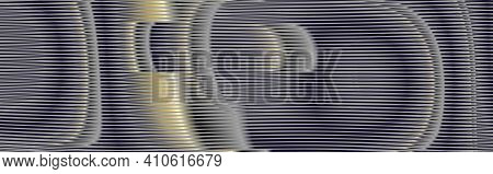 Gray Futuristic Abstract Striped Texture And Moire Effect.. Monochrome Background Saver For Interior