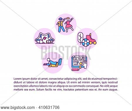 Creating Family Traditions And Memories Concept Icon With Text. Customs And Rituals. Family Legacy.