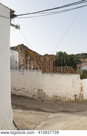 Ruined House In An Andalusian Village In Southern Spain