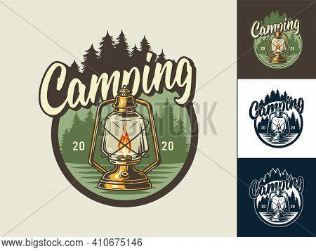 Set Of Kerosene Lamp For Camping Outdoor Trip