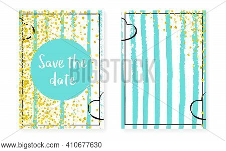 Gold Chic Sparkle. White Glowing Starburst. Scatter Brochure. Stripe Party Element. Mint Concept. Sa