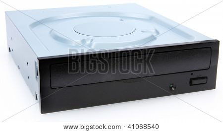 DVD Drive Isolated On White Background