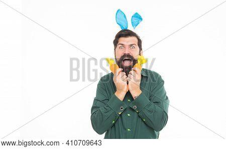 So Happy. Bunny Hunt. Just Having Fun. Eastertime. Happy Holidays. Happy Bunny Guy With Carrot. Copy