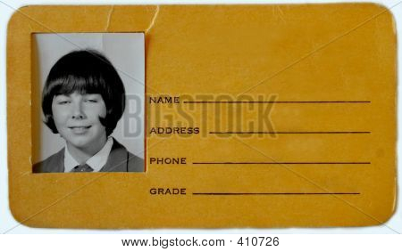 Dorky High School Id Copy