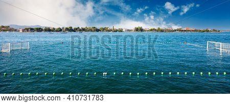 Water polo pitch in Croatia