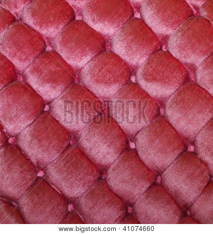 Pink Tufted Velvet Background Texture