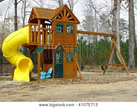 A child's play-set