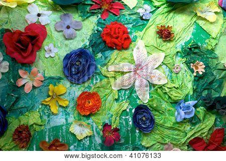Flower Craft Background