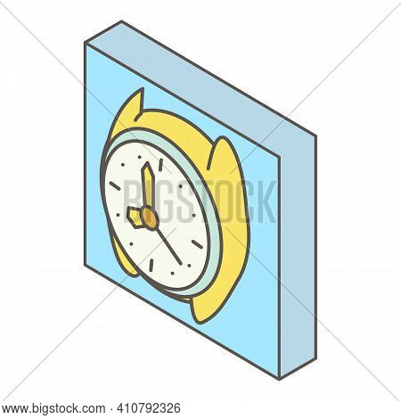 Wrist Watch Icon. Isometric Illustration Of Wrist Watch Vector Icon For Web
