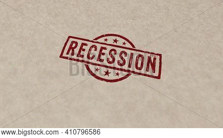 Recession Stamp And Stamping