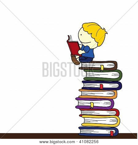 Child With Books