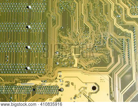 Close Up Of A Circuit Board, Close Up Of Electronic Circuit Board, Electronic Circuit Board