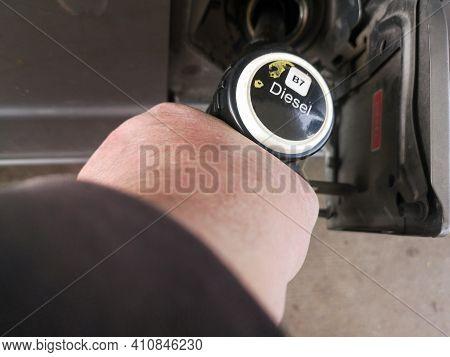 Refuelling Diesel Pump Diseel Refuelling Diesel Pump Diseel