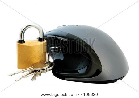 Mouse And Padlock