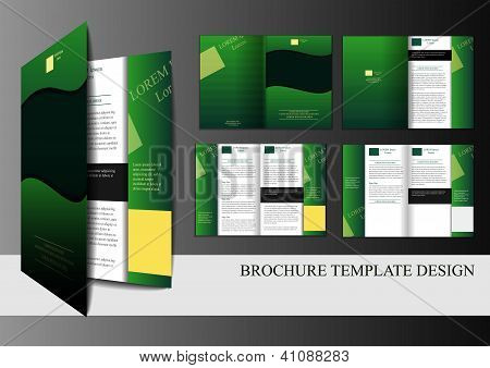 Template For Brochure