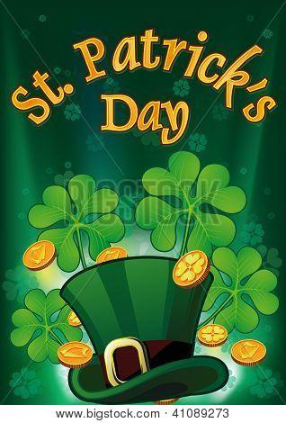 Saint Patric Days Plackard EPS 10