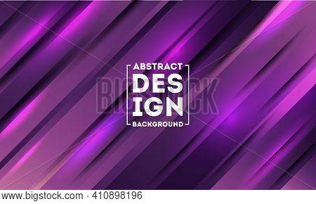 Purple Vector Background Overlap Purple Layer On Purple Dark Space Background
