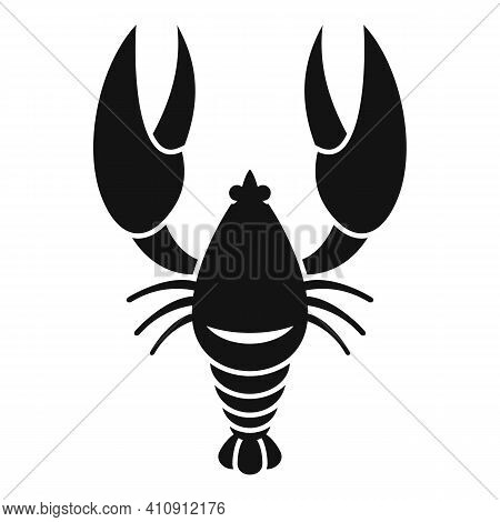Gourmet Lobster Icon. Simple Illustration Of Gourmet Lobster Vector Icon For Web Design Isolated On