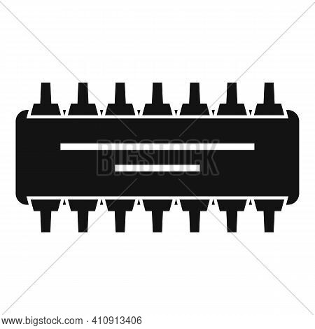 Radio Amplifier Icon. Simple Illustration Of Radio Amplifier Vector Icon For Web Design Isolated On