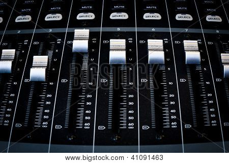 Faders in action