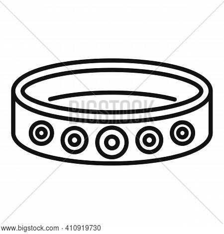 Bracelet Accessory Icon. Outline Bracelet Accessory Vector Icon For Web Design Isolated On White Bac