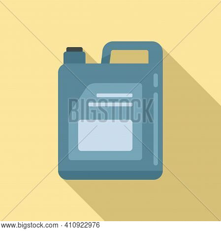 Car Oil Canister Icon. Flat Illustration Of Car Oil Canister Vector Icon For Web Design
