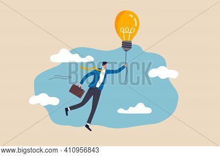 Big Idea To Solve Business Problem, Invention Or Innovation To Drive Business Growth Or Work Achieve