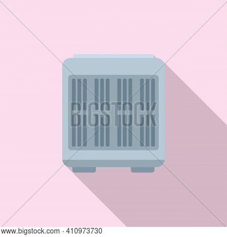 Floor Ventilation Icon. Flat Illustration Of Floor Ventilation Vector Icon For Web Design