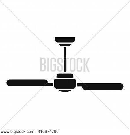 Room Ventilation Fan Icon. Simple Illustration Of Room Ventilation Fan Vector Icon For Web Design Is