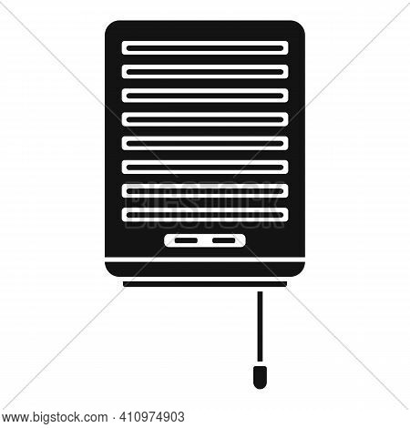 Wall Ventilation Icon. Simple Illustration Of Wall Ventilation Vector Icon For Web Design Isolated O