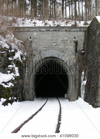 Entry of a Railway Tunnel