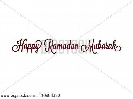 Happy Ramadan Kareem Islamic Design Ramadan Mubarak