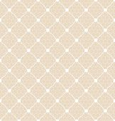 lace dotted bridal white veil seamless pattern on net background poster