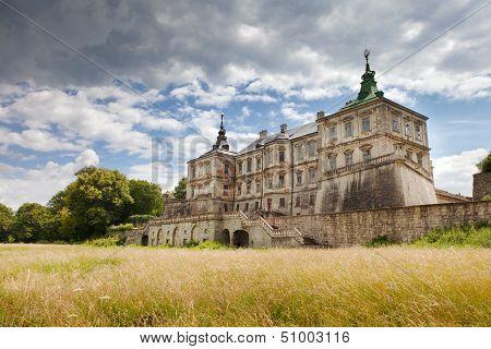 Old Pidhirtsi Castle village Podgortsy Renaissance Palace Lviv region Ukraine poster