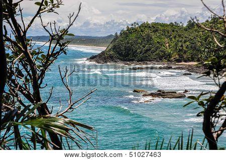 Beautiful Wild Coastline At Itacare, Bahia, Brazil. South America.