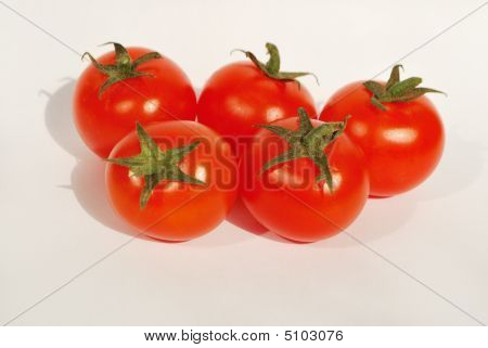 Five Cherry Tomatoes