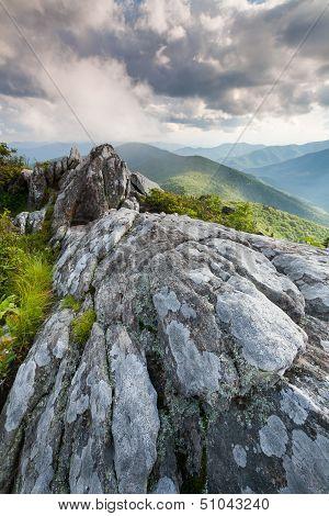 Southern Appalachian Blue Ridge Mountains