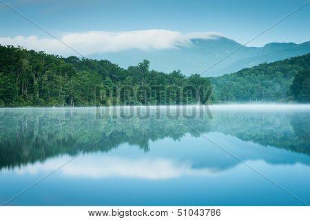 North Carolina Grandfather Mountain Reflection