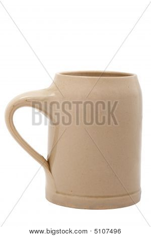 Beer Cup (bierkrug) Isolated