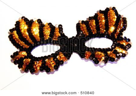 Mask-black And Gold