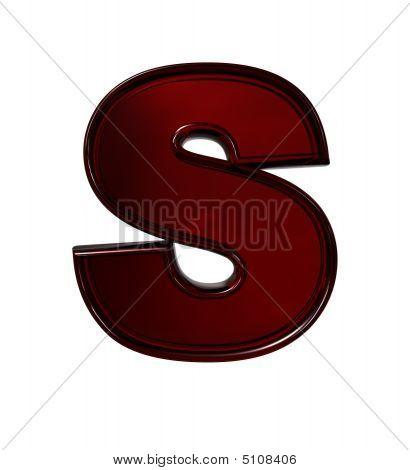 Plastic Letter S