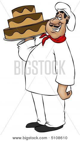 Cartoon Chef
