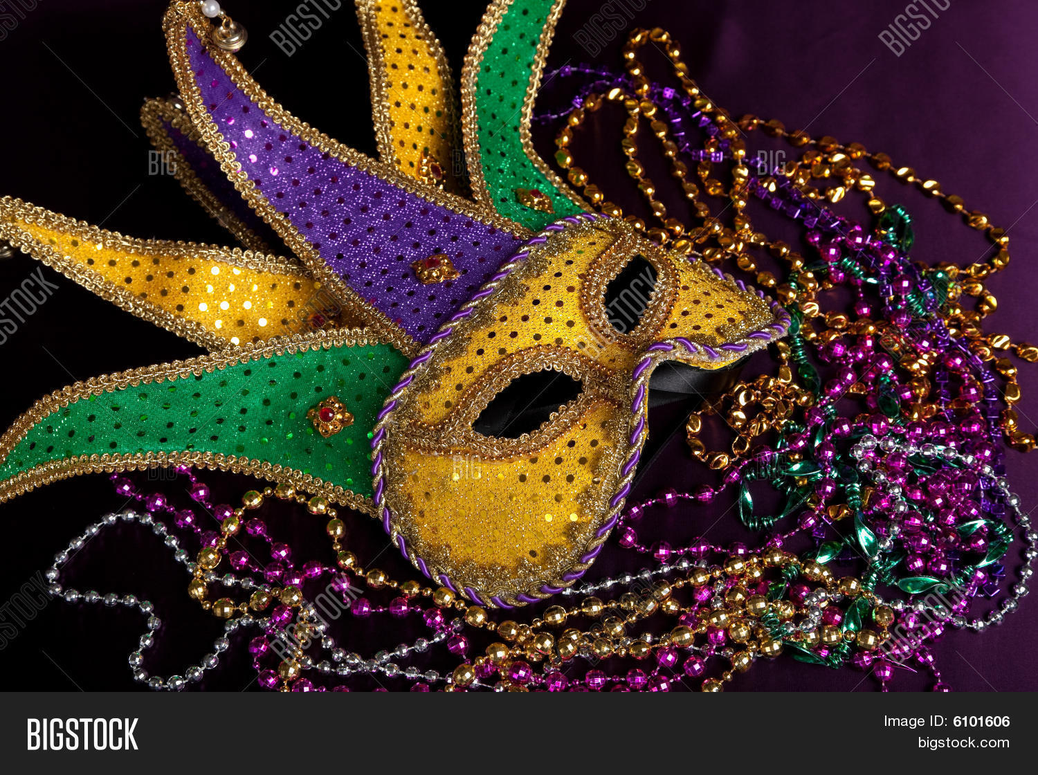 gras theme party background stock masks beads a masquerade image in and carnival mardi vector