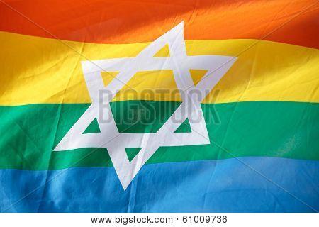 Israel Rainbow Flag