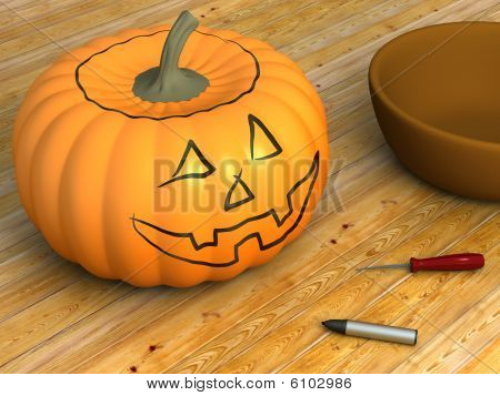 Pumpkin For Carving