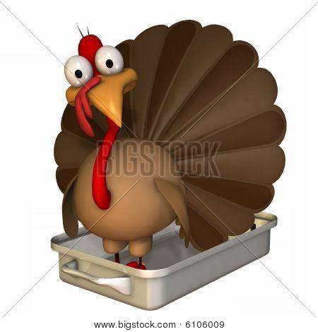 Toon Turkey Roaster
